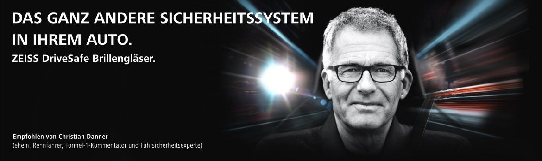 Augenoptisches und optometrisches Zentrum Optik Mattern - Ihr Optiker in Wiesloch und Sandhausen. DriveSafe Brillengläser für mehr Sicherheit im Straßenverkehr.