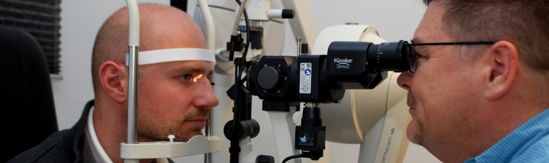 Augenoptisches und optometrisches Zentrum Optik Mattern - Ihr Optiker in Wiesloch und Sandhausen. Modernste Messmethoden bei Optik Mattern.