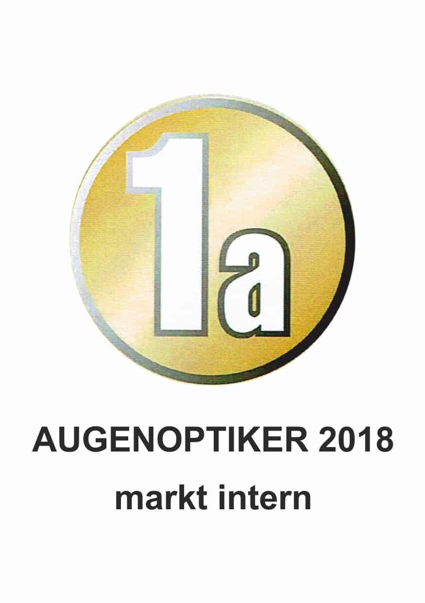 Logo 1a Augenoptiker 2018